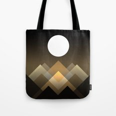 Path between hills Tote Bag