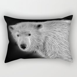 Polar Bear Cub Rectangular Pillow