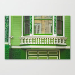 Untitled House 4 Canvas Print