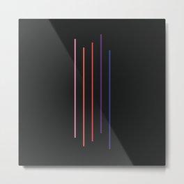 Five Stripes 03 Metal Print