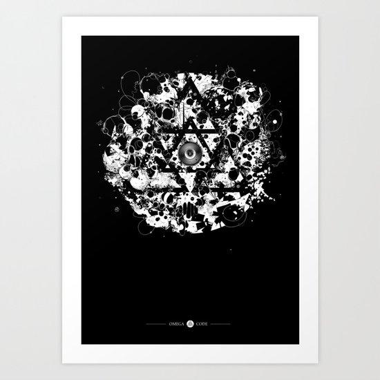 ONREPEAT - Deep Art Print