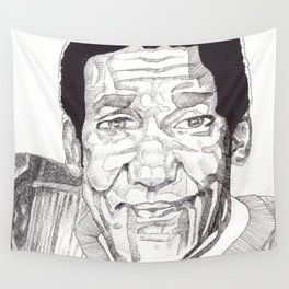 Bill Cosby in a Toulouse Lautrec Sweater by Aaron Bir Wall Tapestry
