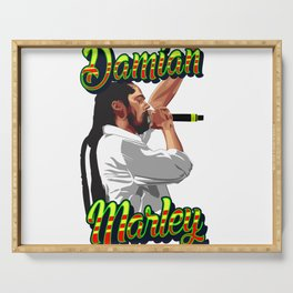 Damian Marley Serving Tray
