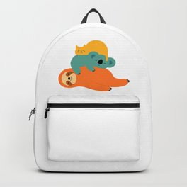 Sloth Being Lazy Backpack