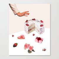 BE MINE Canvas Print
