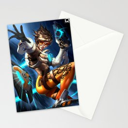 tracer over Stationery Cards