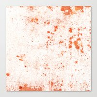 splatter Canvas Prints featuring Splatter by Kit4na