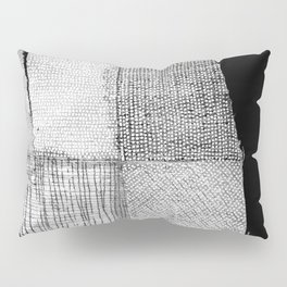 White & Grey Pillow Sham