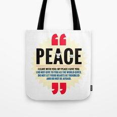 PEACE! Tote Bag