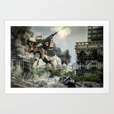 Astray Shooting Art Print
