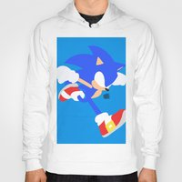 sonic Hoodies featuring Sonic(Smash) by ejgomez