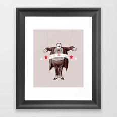 Am I Fat? Framed Art Print