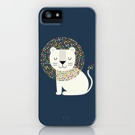 As A Lion iPhone Case