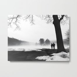 Love At First Fog  Metal Print