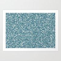 pool Art Prints featuring POOL by aurelien vassal