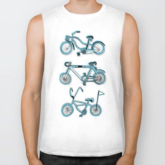 Gonna ride my bike 'til I get home(blue) Biker Tank