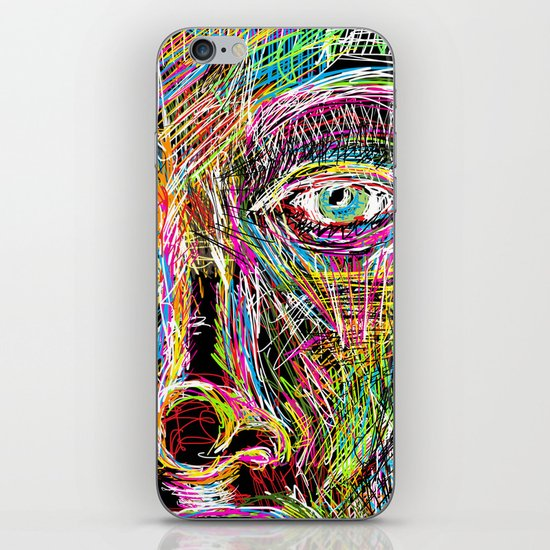 The Most Gigantic Lying Eyes iPhone Skin