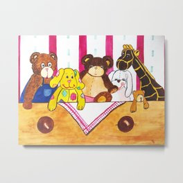 Toybox Metal Print