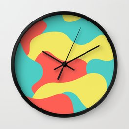 Summer Flavors Wall Clock
