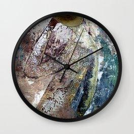 testa di legno Wall Clock