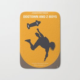 No450 My Dogtown and Z-Boys minimal movie poster Bath Mat