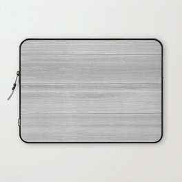 Gray Wood Laptop Sleeve