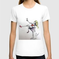 martini T-shirts featuring Martini by Frances Roughton