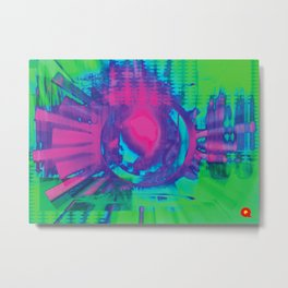 Psyecognition Metal Print