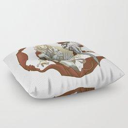Winterbringer's Tale Floor Pillow