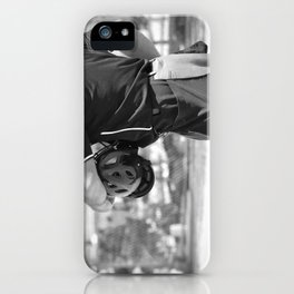 Umpire in Black and White iPhone Case