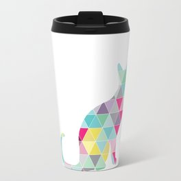 Triangle Cat Travel Mug