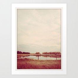 land. Art Print