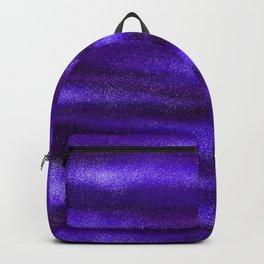 Blue Violet Celestial Bodies Backpack
