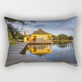 Boat House in Corolla Rectangular Pillow