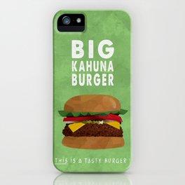Pulp Fiction - big kahuna burger iPhone Case