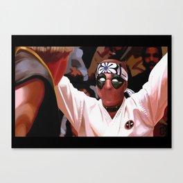 Karate Pool Canvas Print
