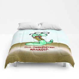 Soil Conservation Manager Comforters