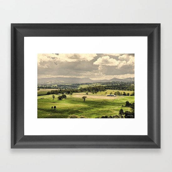 Feilds of dreams Framed Art Print