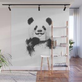 Funny panda Wall Mural