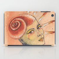 seashell iPad Cases featuring Seashell by Marti Ferrer