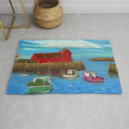 Rockport Inner Harbor #2 Rug