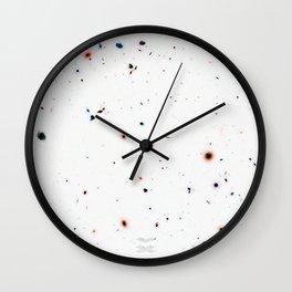 Hubble Deep Field Galaxies Wall Clock