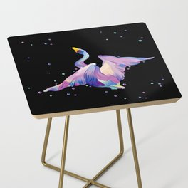 Pink Swan Side Table