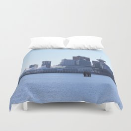 Downtown Vancouver Canada Duvet Cover