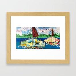 Sail by Jolene Ejmont Framed Art Print