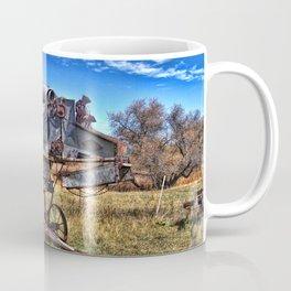 Vintage Oat Thresher Coffee Mug