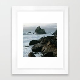 View of San Francisco Bay from Sutro Baths Framed Art Print