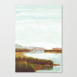 Riverbed Canvas Print