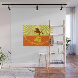 flag of Jacksonville Wall Mural