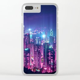 Neo Hong Kong Clear iPhone Case
